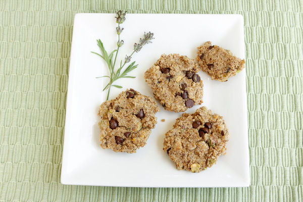 Recipe: Quinoa Lavender Cookies (VIDEO)