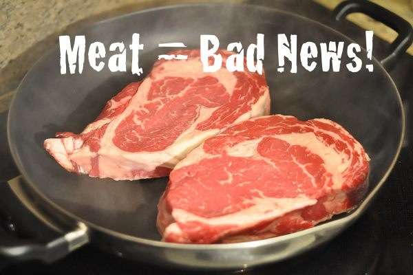 You Better Know This by Now, but Here's More Reasons Why Meat = Bad News!