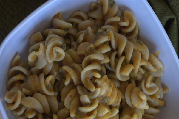 Recipe: Pumpkin Sage Pasta