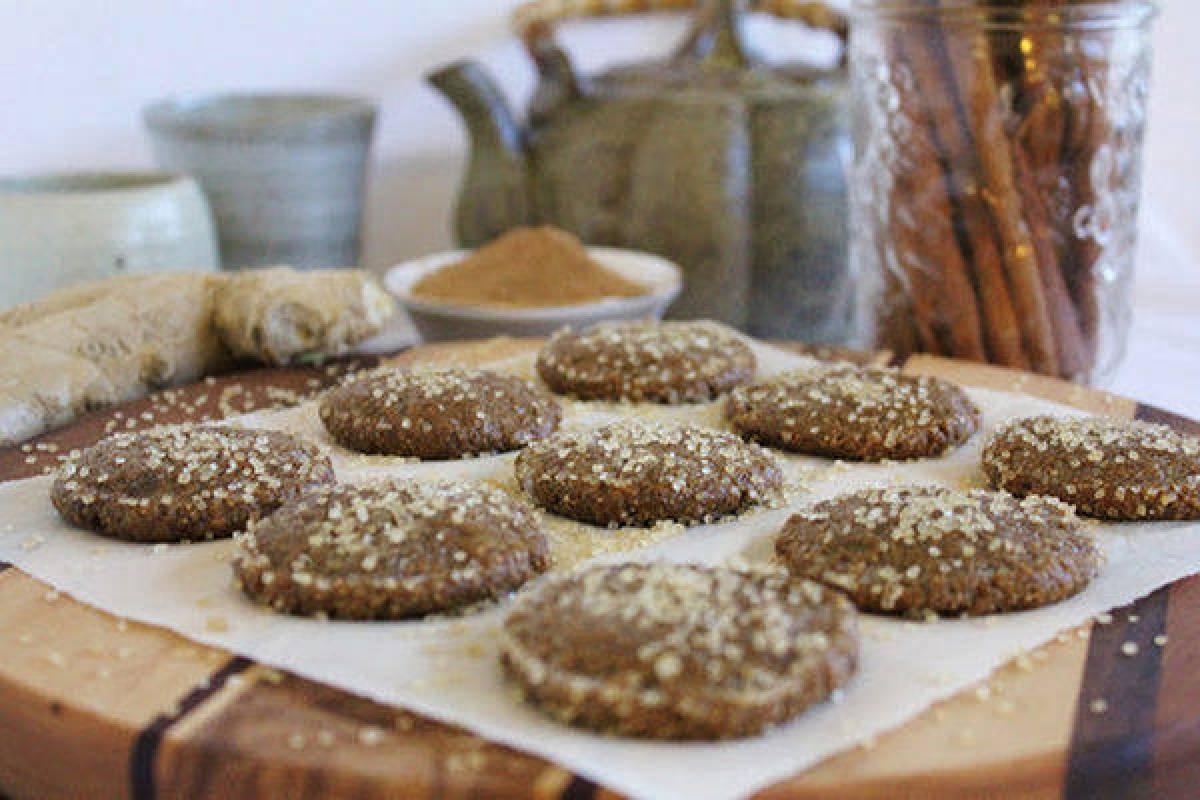 Recipe: Raw Gingersnap Cookies