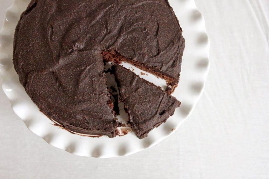 Devil's Food Cake (Vegan)