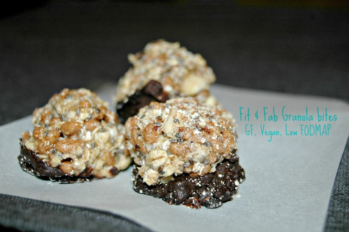 Fit and Fab Granola Bites Pic Monkey