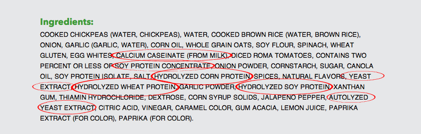 Don't Buy Veggie Burgers With These Ingredients