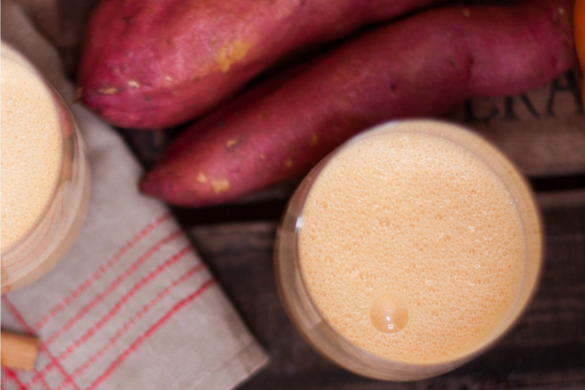 Sweet Potato Pie Smoothie [Vegan]