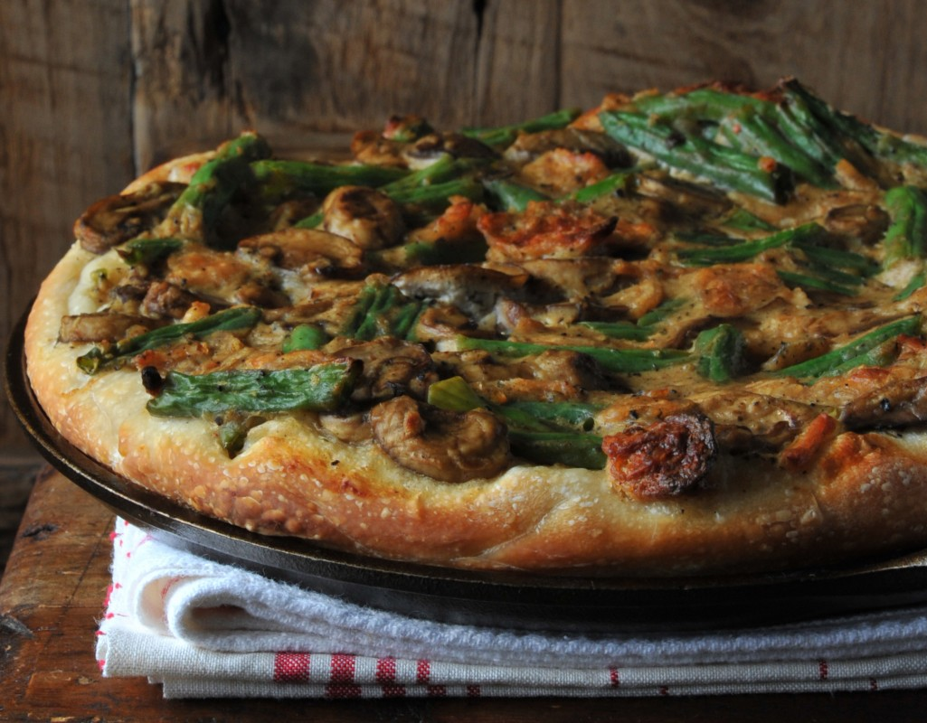 Green Bean Pizza