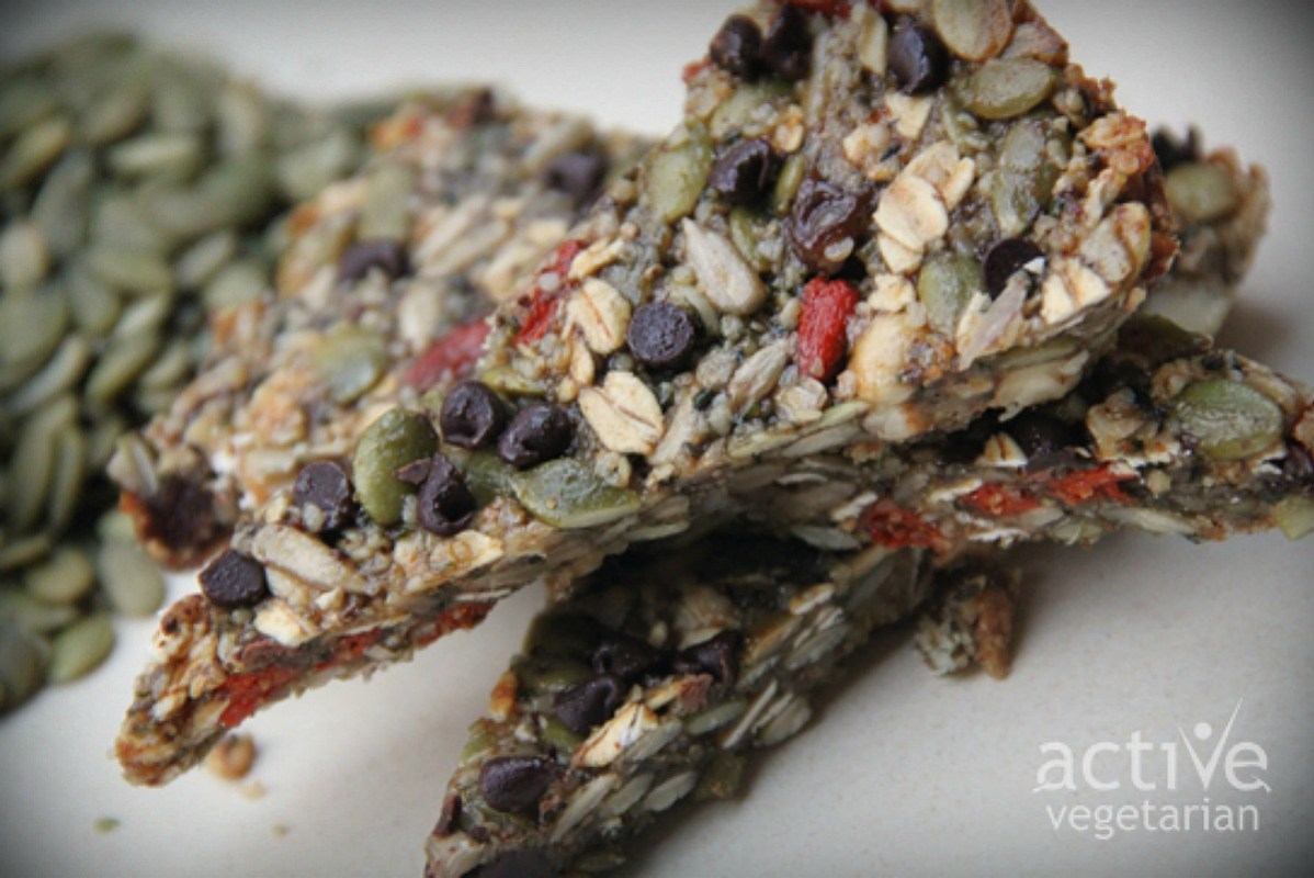Superfood Granola Bars [Vegan, Gluten-Free]