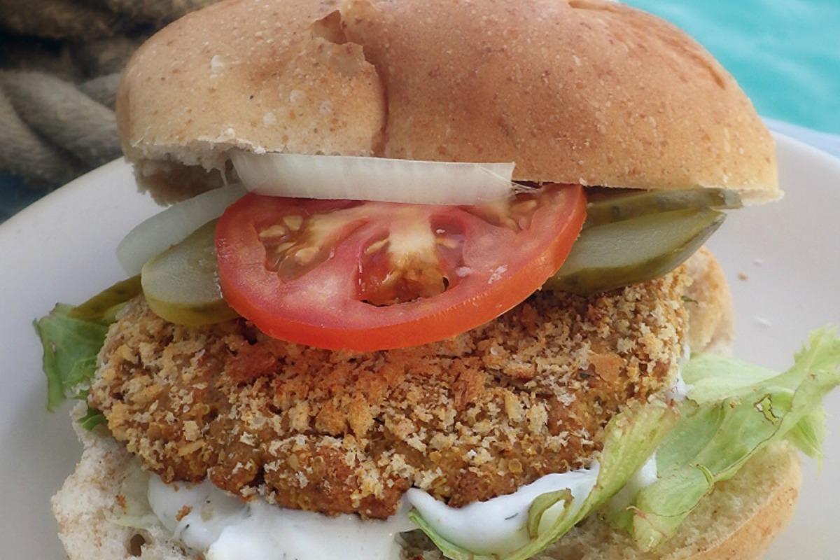 Chicken-less Burgers [Vegan]