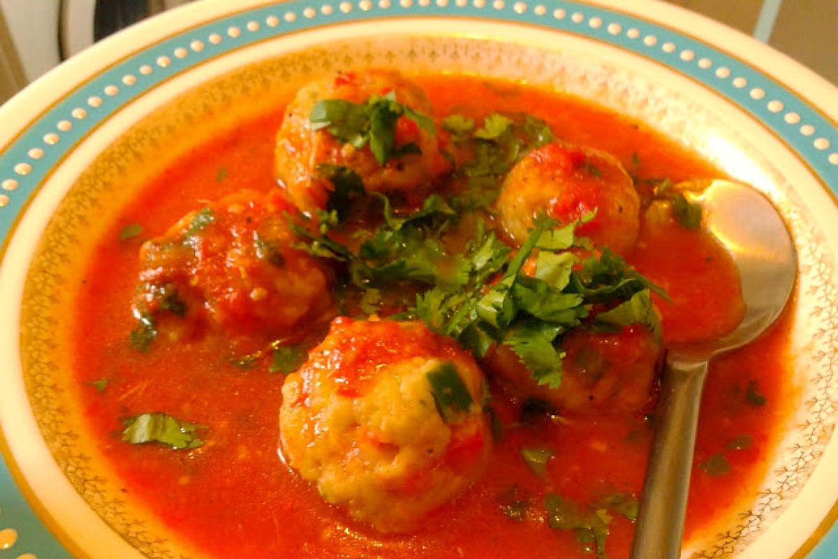 Plantain Dumpling Soup [Vegan, Gluten-Free]