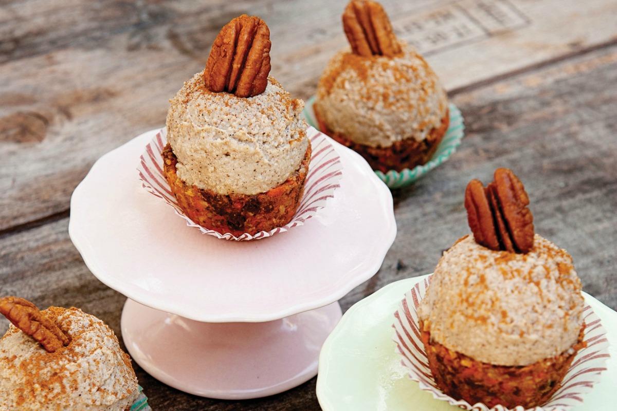 Carrot Collective Cupcakes [Vegan]