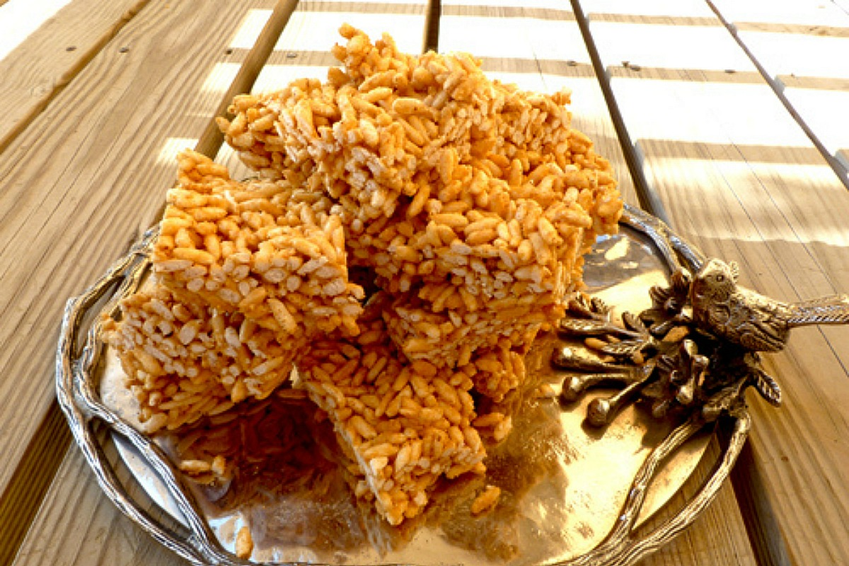 Vegan Rice Crispy Treats [Gluten-Free]