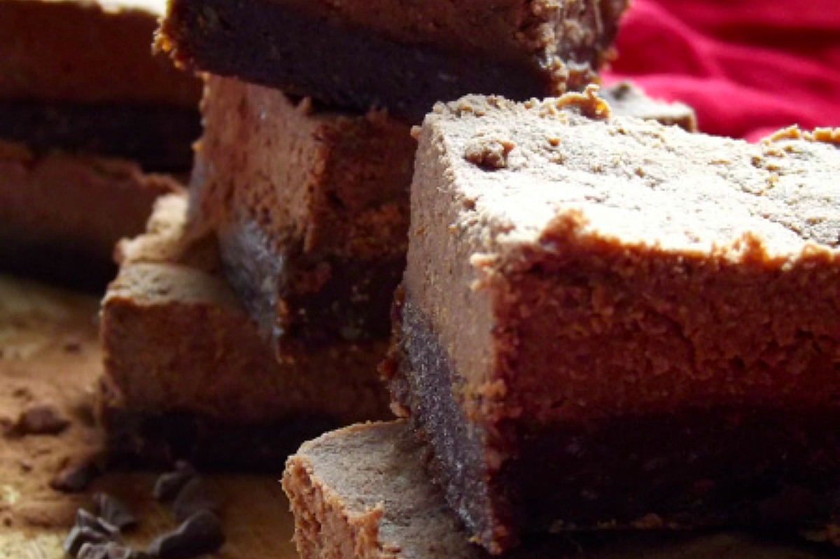 Double Chocolate Squares [Vegan, Raw, Gluten-Free]