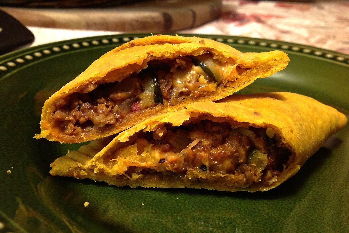 "Jamaican ""Beef"" Patties with Cheese [Vegan, Gluten-Free]"