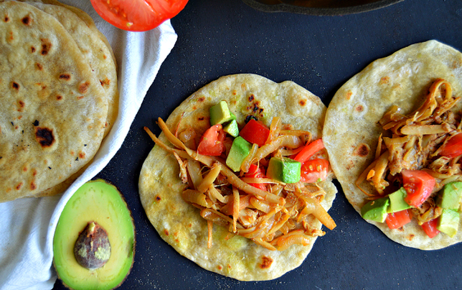 Hearts of Palm Carnitas [Vegan, Gluten-Free]