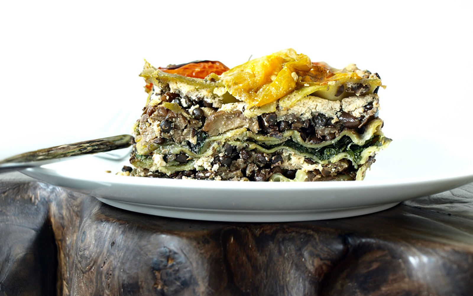Show-Stopping Lentil and Eggplant Lasagna [Vegan]