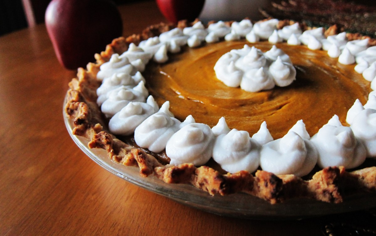 Butternut Squash Apple Pie [Vegan]