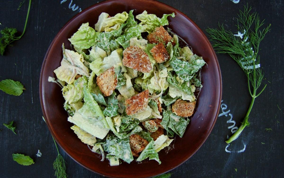 Caesar Salad Nouveau [Vegan]