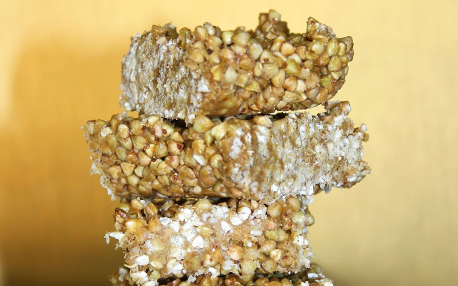 raw buckwheat crispy treats