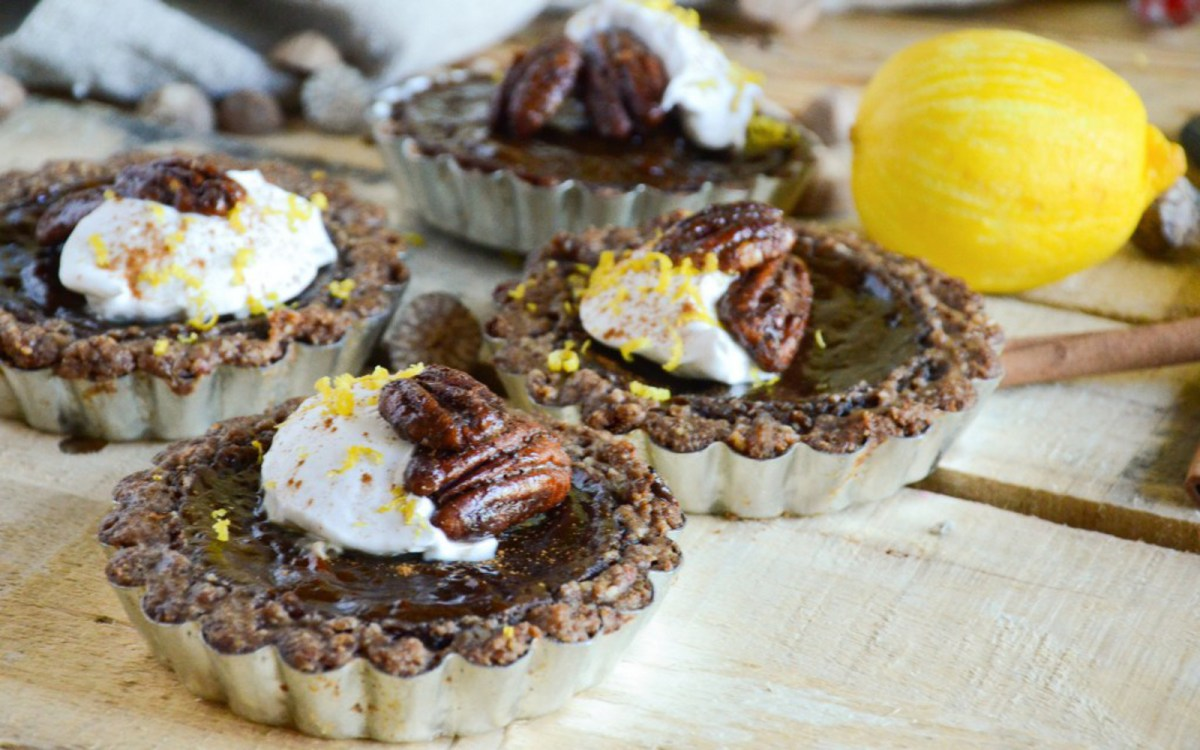 Sweet Potato Pie Tartlets