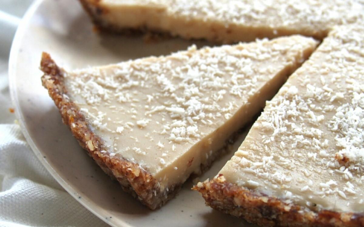 Classic No-Bake Coconut Lemon Tart