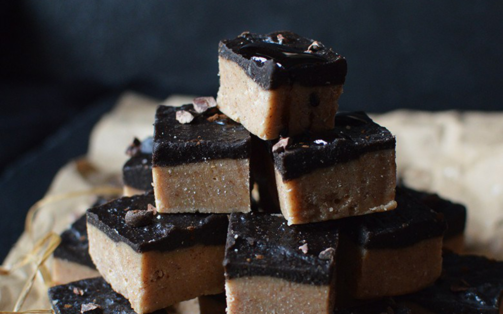 peanut butter and carob fudge