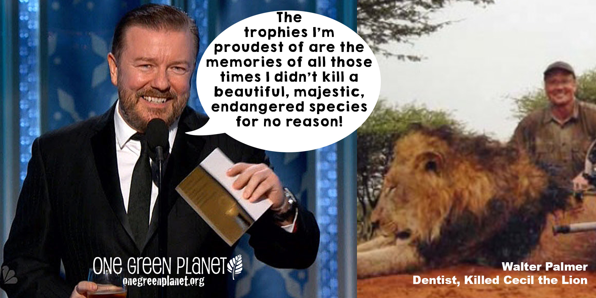 6 Awards Ricky Gervais Will be Giving Out
