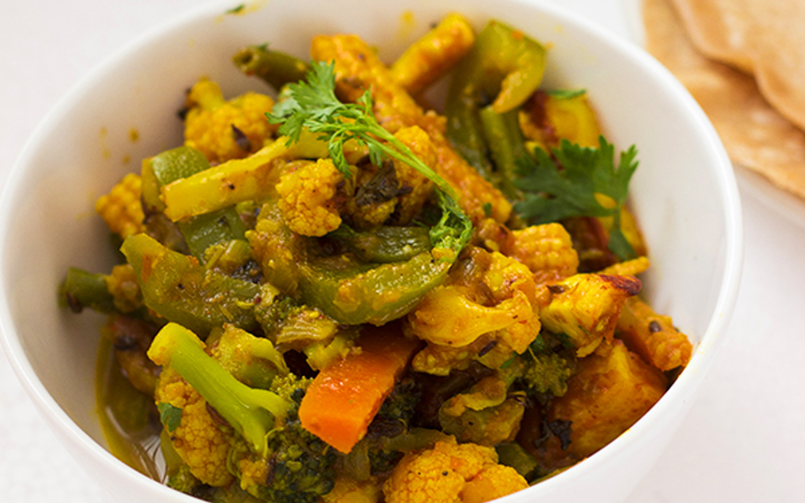 vegetable jalfrezi curry