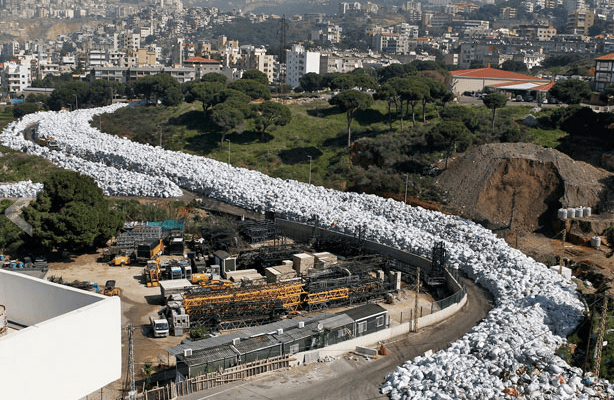 Photo of Trash River in Beirut Shows Us Why We Need to #CrushPlastic!