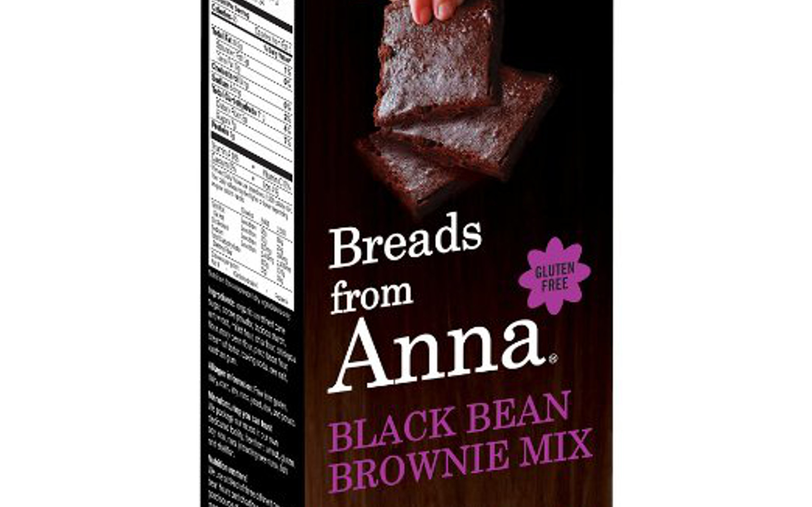 Breads From Anna Black Bean Brownie Mix