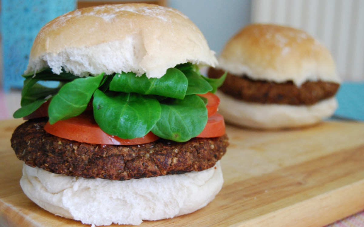 Smokey and Spicy Black Bean Burger