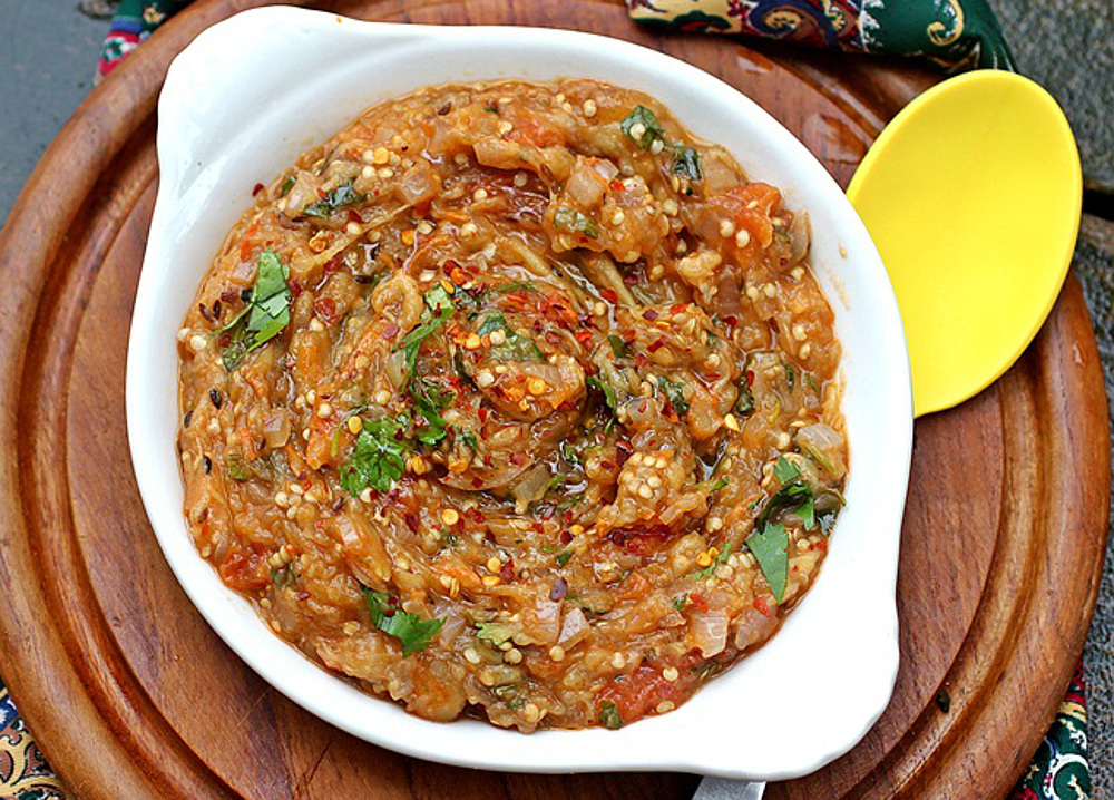 Baigan bharta indian char roasted eggplant dip vegan gluten free baigan bharta indian char roasted eggplant dip vegan gluten free one green planet forumfinder Images
