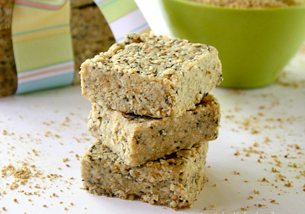 Raw Hemp Chia Seed Bars