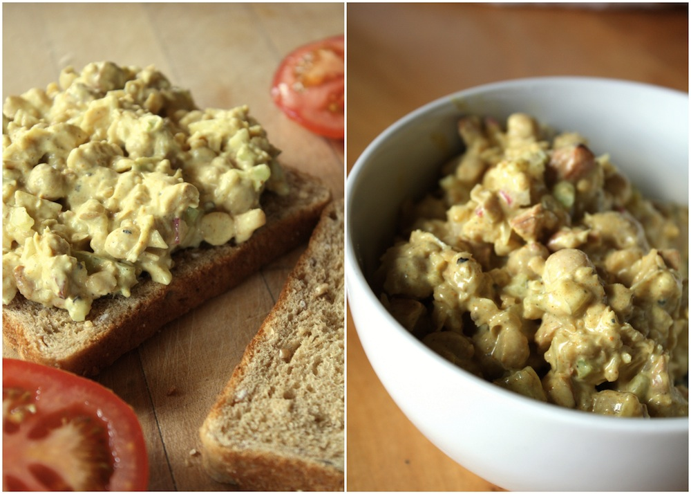 Tangy Curried Chickpea Salad