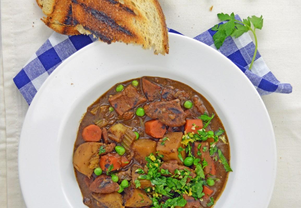 Vegan Beef-Style Stew