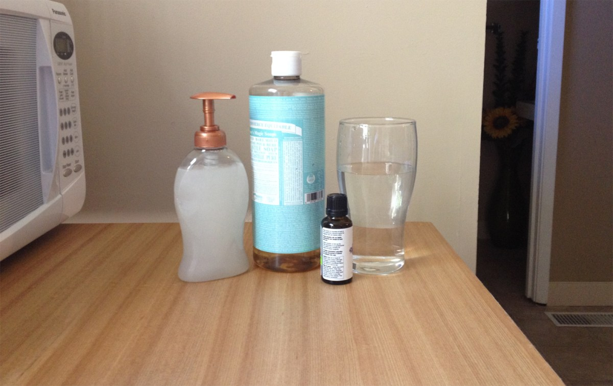 How To Make Your Own Natural Liquid Hand Soap One Green