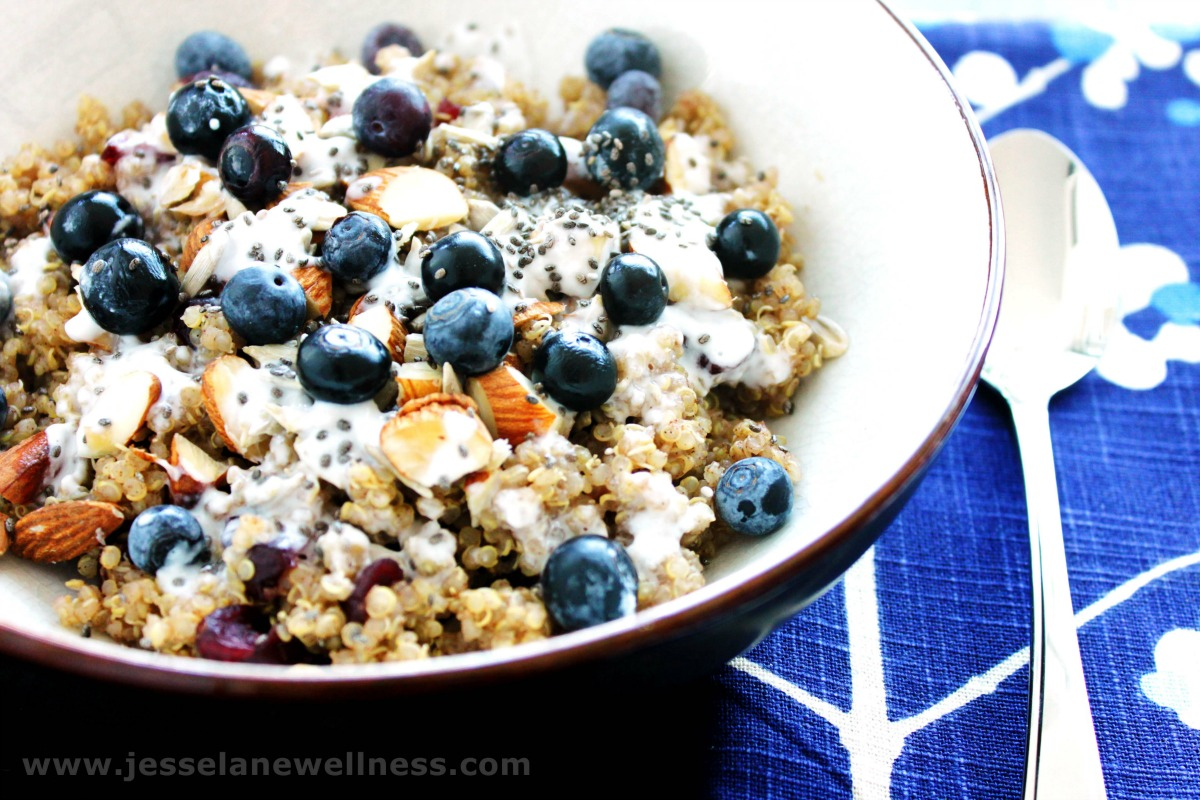 Protein-Packed Breakfast Quinoa Bowl