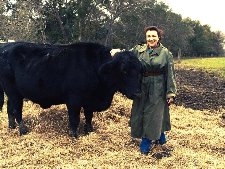 This incredible woman is on a mission to convert her for Sanctuary ranch