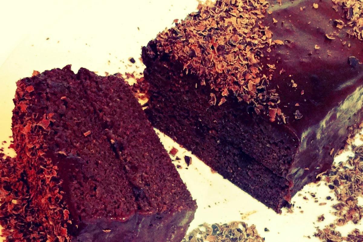 Chocolate Sweet Potato Birthday Cake