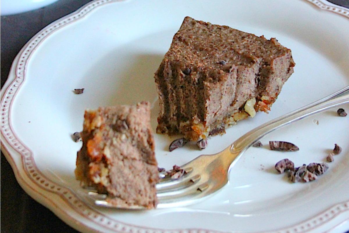 Vegan Amaretto Chocolate Cream Cake