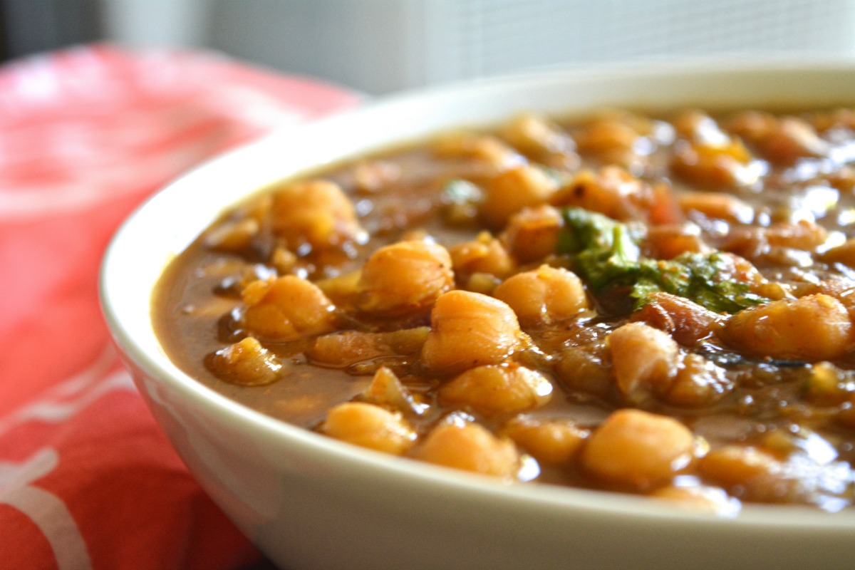 Punjabi channa masala vegan gluten free one green for Amani classic punjabi indian cuisine