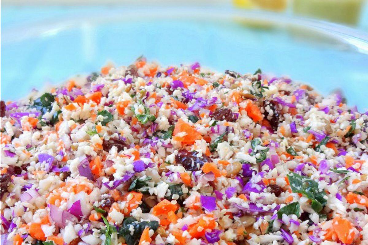Vegan Chopped Detox Salad