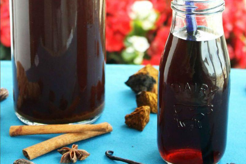 Chaga Mushroom Tea (Chai and Vanilla) [Vegan, Gluten-Free]