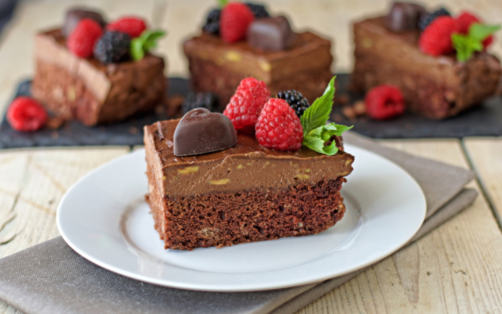 Chocolate Mousse Cake [Vegan, Gluten-Free]