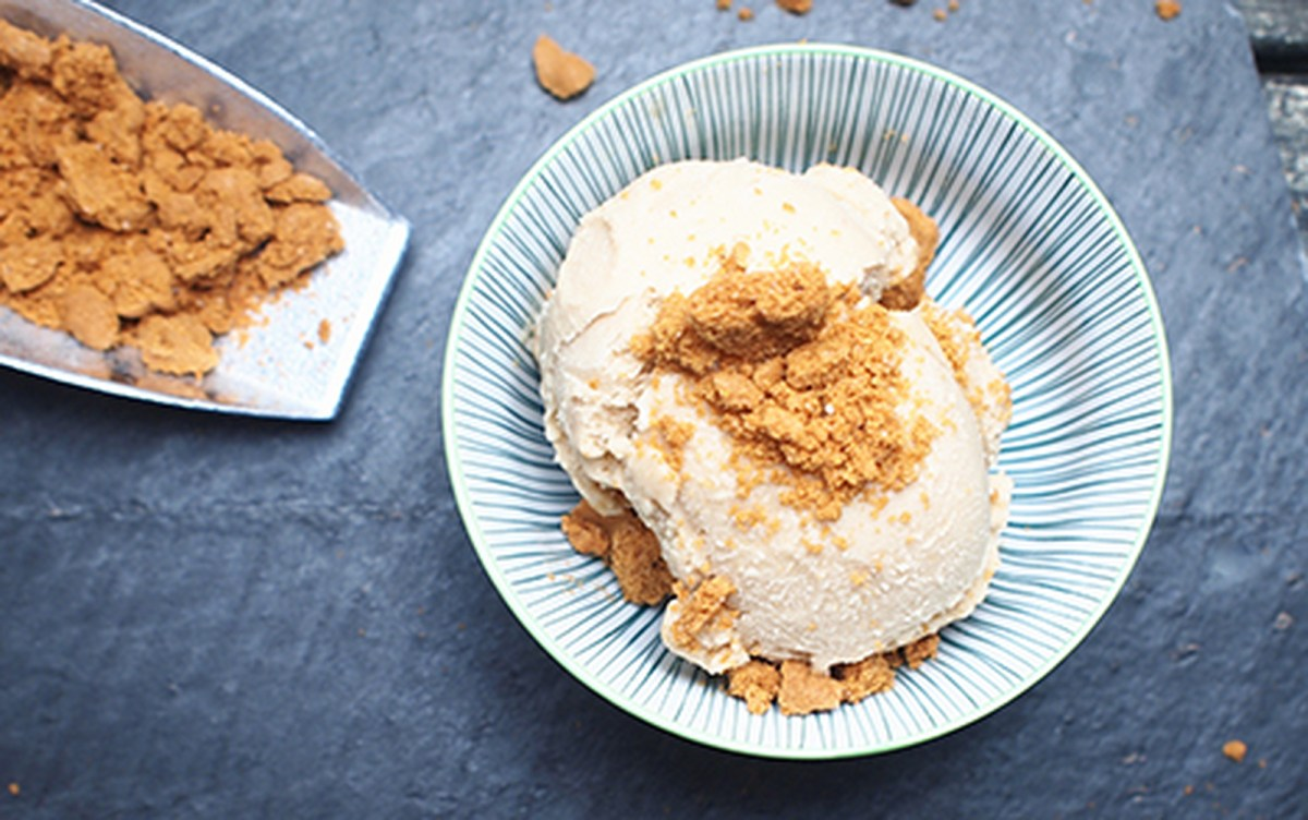 Speculoos Coconut Ice Cream