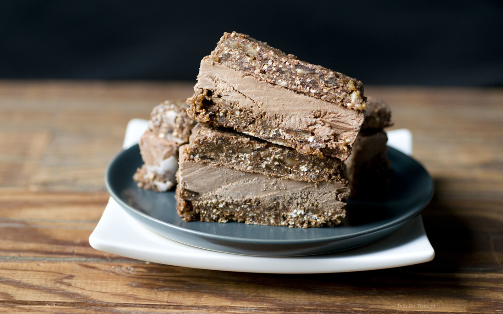 Raw Chocolate Ice Cream Sandwiches