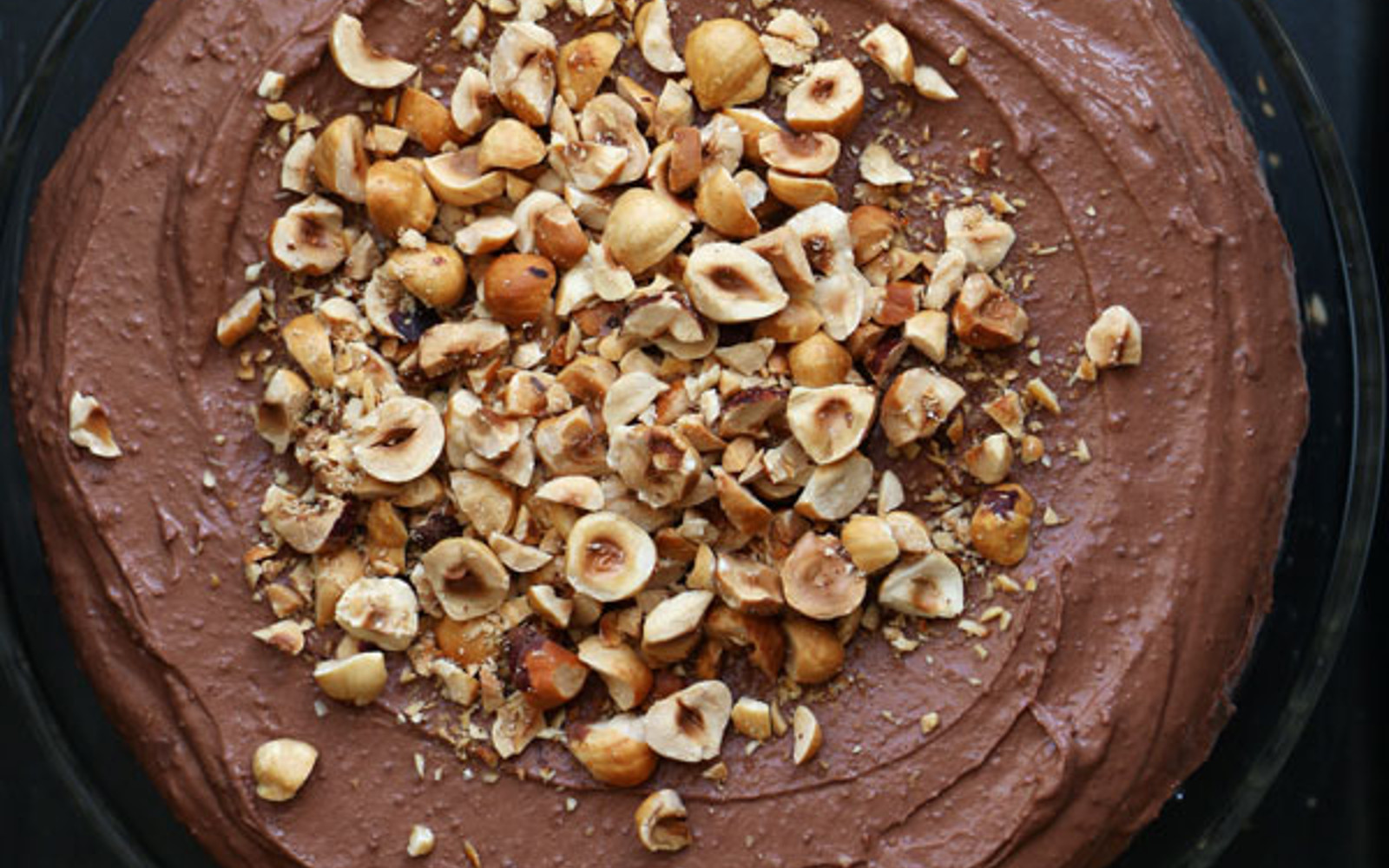 Chocolate Teff Cake With Chocolate Hazelnut Frosting
