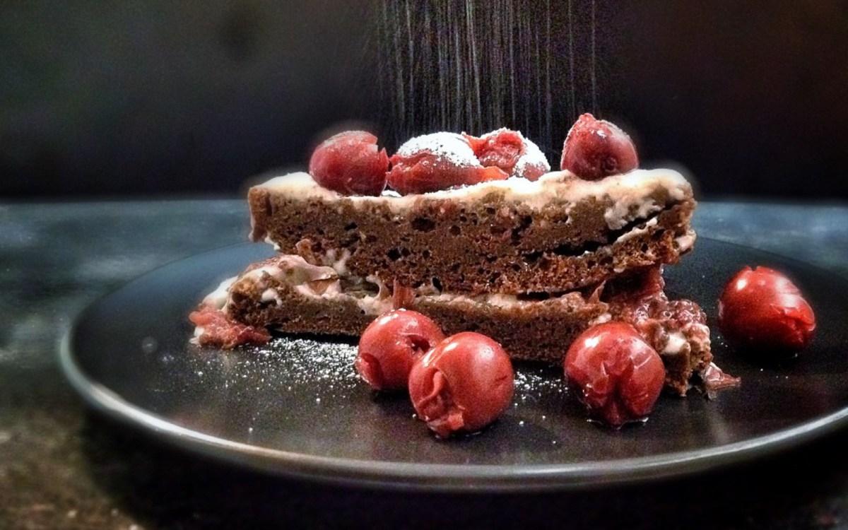Low Sugar Vegan Cake Recipes: Oil-Free Black Forest Cake [Vegan]