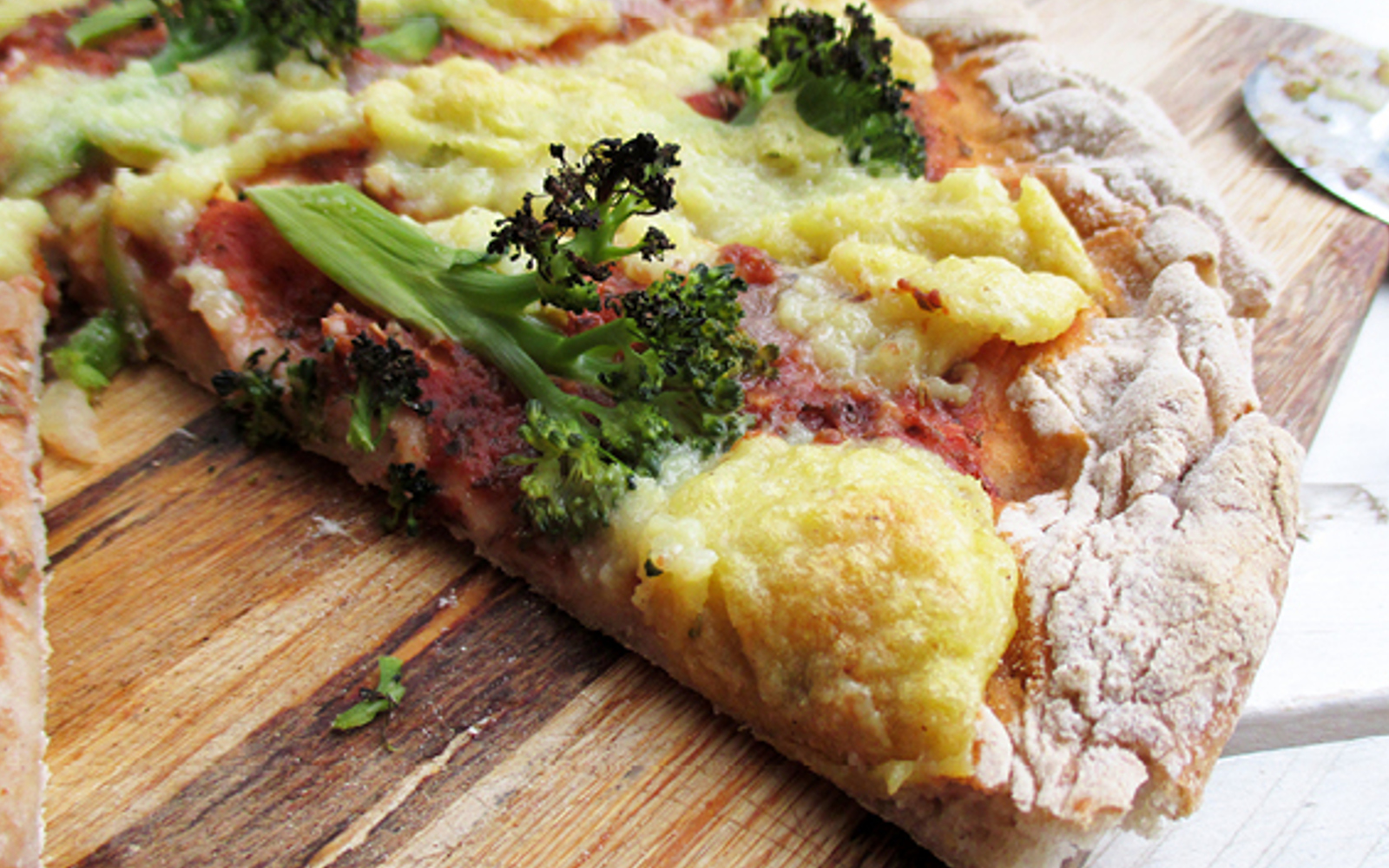 Gluten-Free Pizza Crust With Nut-Free Cheese