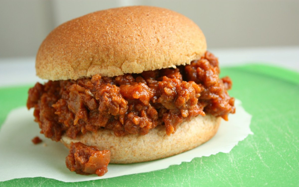 Vegan Slow-Cooker Sloppy Joes