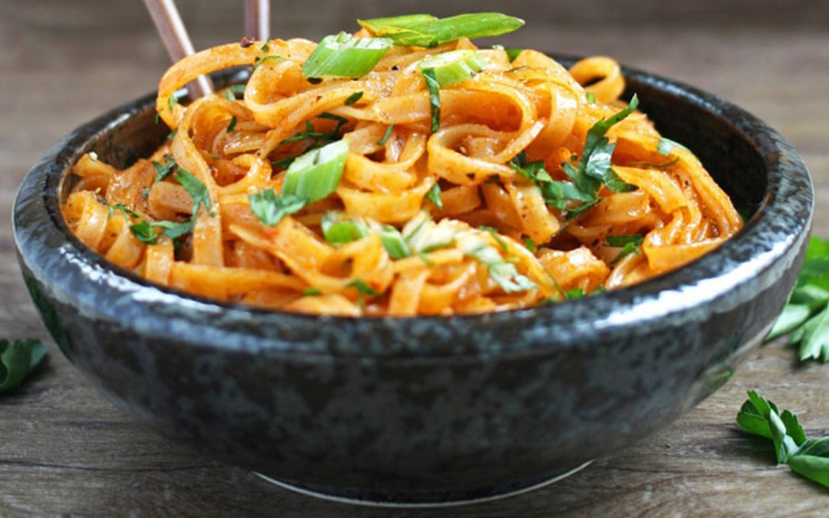 Coconut Curry Linguini