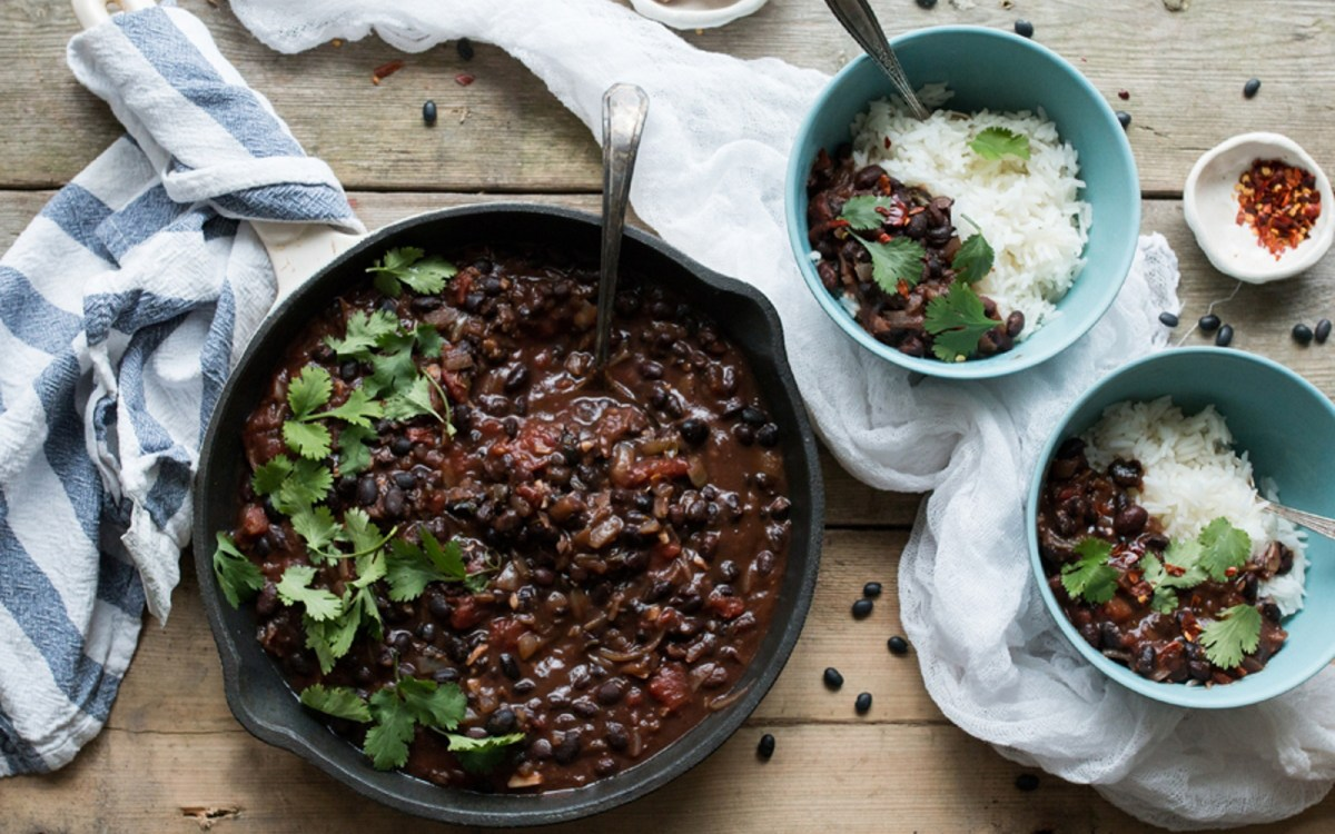 Colombian black bean stew vegan one green planetone green planet food monster recipes forumfinder Image collections